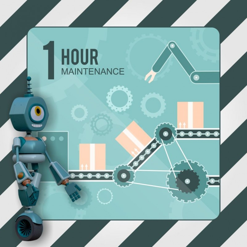 1 Hour maintenance package
