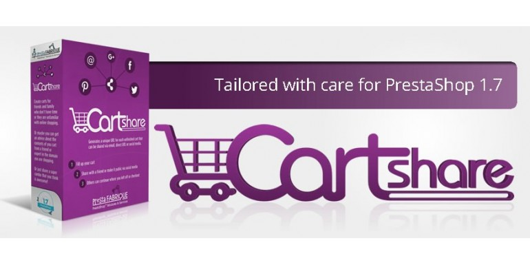Cart Share module for Prestashop - Greatness in simplicity
