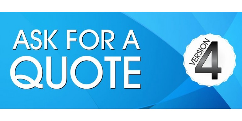 Ask for a Quote module reloaded - with video