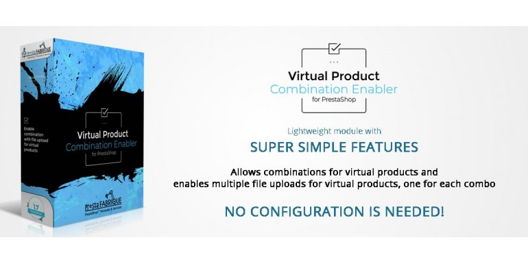 Virtual product combination enabler for Prestashop - name says it all