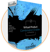 Virtual product combinations enabler for Prestashop